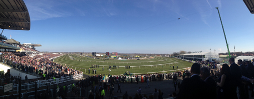 View of Aintree Grand National